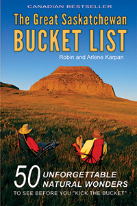 Great Saskatchewan Bucket List cover